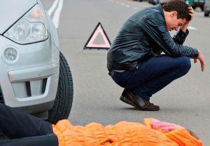 Водитель и пешеход ДТП