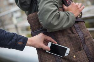 Кража мобильного телефона
